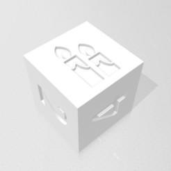 D6 - Candles.jpg Download STL file D6 Candles Symbol Logo • 3D printing design, verasartsanddice