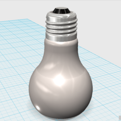 bombillo normal.png Download STL file BULB (BULB) • Object to 3D print, fagh776477