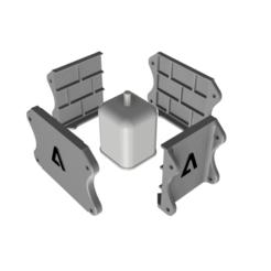 Descargar archivo STL MOLDE PARA MACETA DE CEMENTO BLOQUE BRICKS MARIO BROS • Plan para la impresión en 3D, EngineerFer