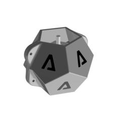 1.png Download STL file geometric cement pot mould (pentagonal) • 3D printable template, EngineerFer