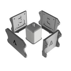 Descargar archivo STL Molde para maceta de cemento Bloque Misterioso Mario Bros • Plan para la impresión en 3D, EngineerFer