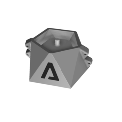 4.png Download STL file GEOMETRIC CEMENT POT MOULD • Object to 3D print, EngineerFer