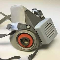 Descargar modelos 3D gratis Filtro de exhalación del respirador 3M 6000, limhueysing