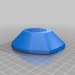 Impresiones 3D gratis 3M 6800 cubierta del filtro del respirador de cara completa, limhueysing
