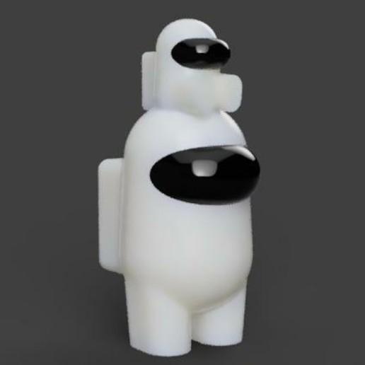 AMONGCITO SENTADO-picsay.jpg Download STL file pack 3 of 10 AMONG US + AMONG EXCLUSIVE MR PRESIDENT • 3D printable design, sebastiancabral719