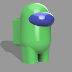 WhatsApp Image 2020-10-24 at 18.25.08.jpeg Download STL file AMONG US • 3D print template, sebastiancabral719