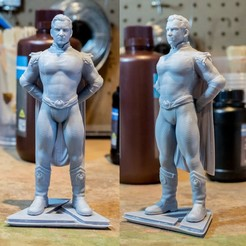 Download STL file Homelander Statue, DCA-tabletop