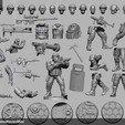 Télécharger fichier OBJ gratuit Soldat moderne des États-Unis • Modèle pour imprimante 3D, strannik1988