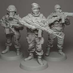 Télécharger fichier OBJ gratuit Soldat • Design à imprimer en 3D, strannik1988