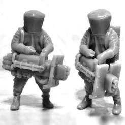 HeavyPlazma.jpg Download STL file Biohazard Suit  • 3D printer model, strannik1988