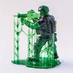 Télécharger fichier imprimante 3D gratuit Soldat moderne, strannik1988