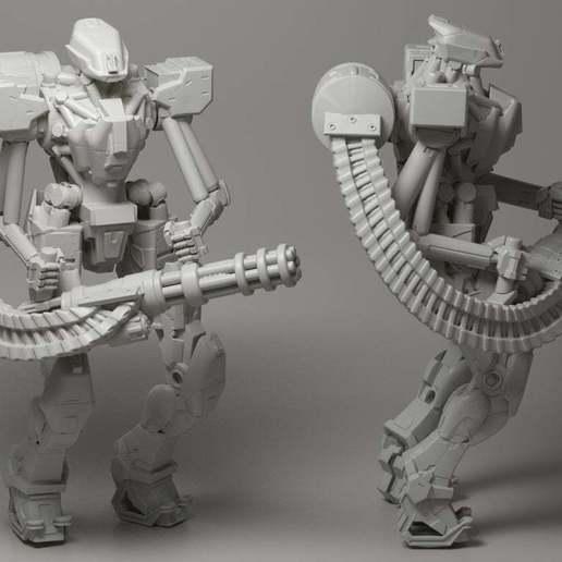 Télécharger fichier OBJ gratuit Droïde d'assaut • Objet pour impression 3D, strannik1988