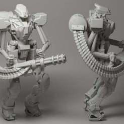 Download free 3D printer designs Assault droid, strannik1988