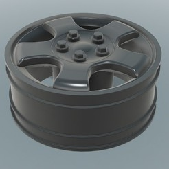1.jpg Download STL file RC 1/10 Land Rover Discovery Rim • Object to 3D print, robroy07