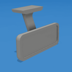 Download free STL file 1/10 Rear Mirror for RC Cars/Trucks • Template to 3D print, robroy07