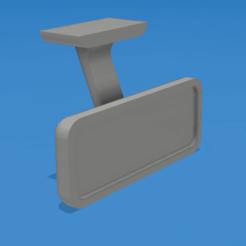 01.png Télécharger fichier STL gratuit 1/10 Rétroviseur pour voitures/camions RC • Design à imprimer en 3D, robroy07
