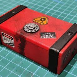 01.jpg Download free STL file RC Car Box • 3D printable design, robroy07