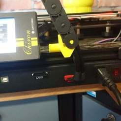 Download free 3D printer model Anycubic chiron cable managment cable chain Z_axes remix thing:3275644, cgajkuijpers