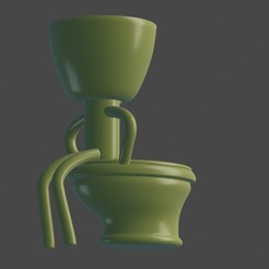 WhatsApp Image 2020-10-10 at 10.30.48.jpeg Download STL file Robert Plant Pot • Model to 3D print, pablitocrc