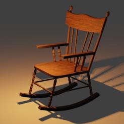 0009.png Download STL file 3D wood chair • 3D printable model, blender382