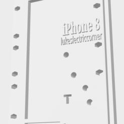 Download 3D printing templates iPhone 8 Screw Guide Repair Board, lukeslectriccorner