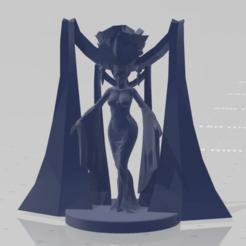 model_view_front.png Télécharger fichier STL gratuit DnD Grande Prêtresse avec base de 20mm • Plan à imprimer en 3D, akjmphoto