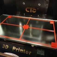 b16.jpg Télécharger fichier STL gratuit CTC Replicator Dual Bed Levelling 225x145mm • Design à imprimer en 3D, akjmphoto