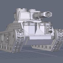 Télécharger modèle 3D Le char de combat Aurochs, BiancaW