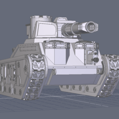 Download 3D printing designs Aurochs Battle Tank, BiancaW
