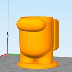 Captura.JPG Download free STL file MATE AMONG US • 3D printing object, Codigo3D