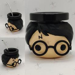 photo_2020-10-22_07-51-57.jpg Download free STL file Mate Harry Potter • 3D printer template, Codigo3D