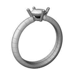 Download free 3D printer model SINGLE RING, JALV
