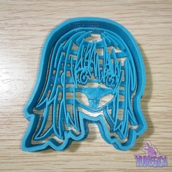 """Download 3D printer files Rimuru Tempest from """"That Time I Got Reincarnated as a Slime"""" Cookie Cutter - STL file, Yumegica"""