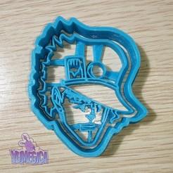 "Download STL Jotaro Kujo from ""JoJo's Bizarre Adventure"" Cookie Cutter - STL file, Yumegica"