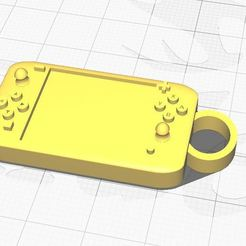 nin key 2.JPG Download STL file Nintendo Switch keychain • 3D print design, Aboutexodma