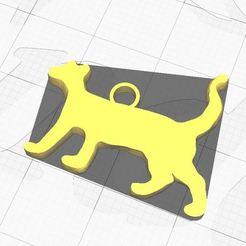 Cat keychain 1.JPG Télécharger fichier STL Porte-clé chat • Modèle imprimable en 3D, Aboutexodma