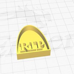 rip.JPG Download STL file RIP Cookie Cutter  • Model to 3D print, Aboutexodma