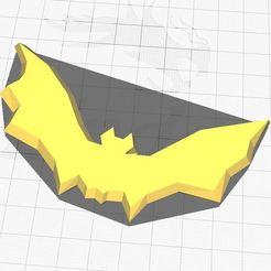batt.JPG Download STL file Low poly Bat • 3D printer model, Aboutexodma