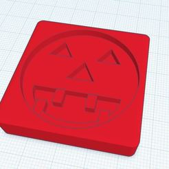 Halloween pumpkin.JPG Download STL file Spooky Halloween pumpkin Cookie Cutter • 3D print design, Aboutexodma