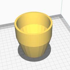 flower pot.JPG Download STL file Simple Flowerpot • 3D printing template, Aboutexodma