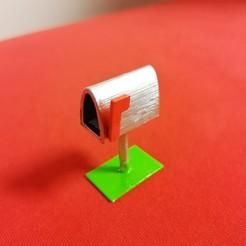 Download free STL file Mini Mailbox • 3D print design, mirecekbrnak58