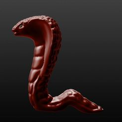 had.JPG Download STL file Snake figure/Bust - Cobra • Design to 3D print, Aboutexodma