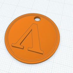 Spartan shield.JPG Download STL file Spartan Shield keychain • 3D printable object, Aboutexodma