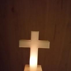 Download free STL file Cross Mini-lamp • 3D printing model, mirecekbrnak58