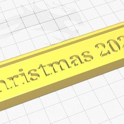 qqwwee.JPG Download STL file Big christmas 2020 cookie cutter • Design to 3D print, Aboutexodma