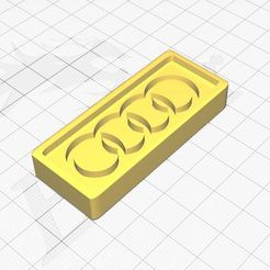 audi.JPG Download STL file Audi symbol Cookie Cutter • 3D printable object, Aboutexodma