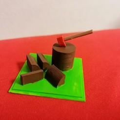 IMG_20200906_205441.jpg Download STL file Mini Axe Diorama • 3D printable design, Aboutexodma