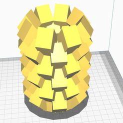 vasss.JPG Download STL file Modern vase V3 • 3D print design, Aboutexodma