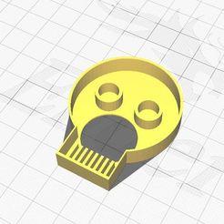 skull.JPG Download STL file Skull Cookie Cutter • 3D print model, Aboutexodma