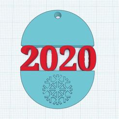 wwwqq.JPG Download STL file ChristmasTree decoration 2020 • 3D printer design, Aboutexodma